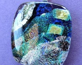 Cool and Contemporary Fused Dichroic Glass