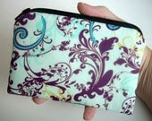 Little Zipper Pouch Coin Purse ECO Friendly Padded Sky Bazaar