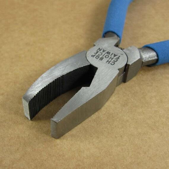 Glass Breaking Pliers / Grozers - Use To Break Glass Easily