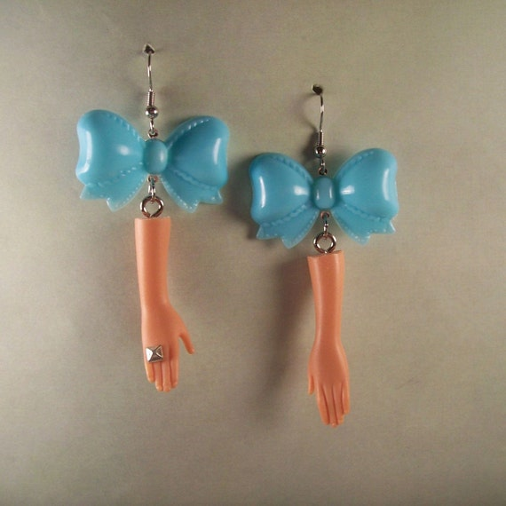 Barbie Bow Earrings
