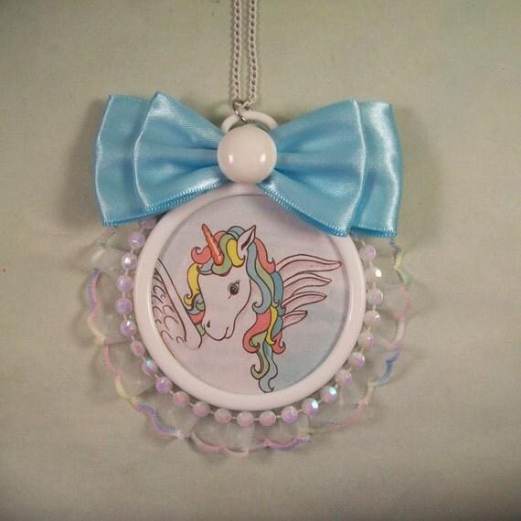 Whisper the Winged Unicorn Necklace