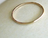 14k Gold Bands hammered - custom for tammylwatts