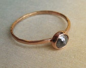 Rose Cut Diamond Ring - Large