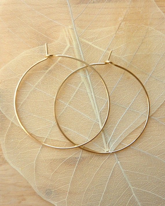 Hoops - 14k Gold-Filled, Large