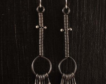 Lashes Loop Earrings