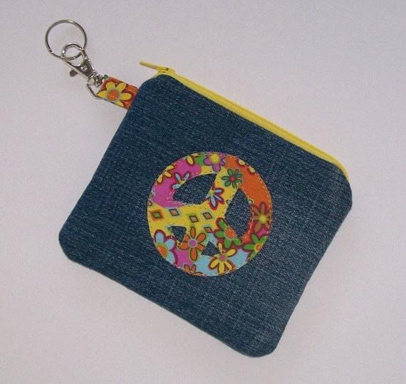 Peace Zipper Pouch