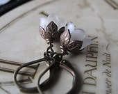 Flower Earrings, Vintage Inspired Wedding, Bridesmaid Gifts, Gifts For Her, Tulip Earrings