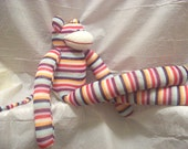 Maggie the Sock Monkey - Large