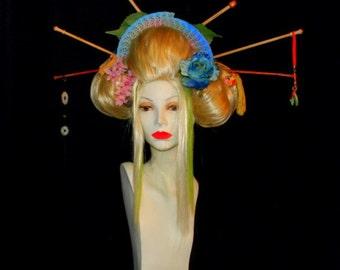 Komaki the Knitting Geisha Wig