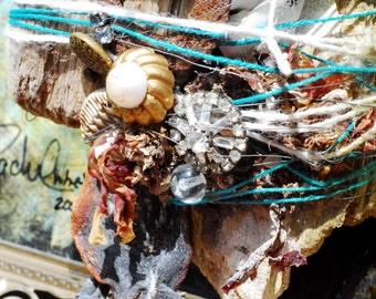 The Beach Comber Original Assemblage art