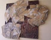 Original Abstract Relief Artwork