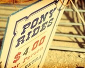 Pony Rides 8x10 Fine Art Print