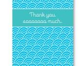 Thank You Sooooo Much card