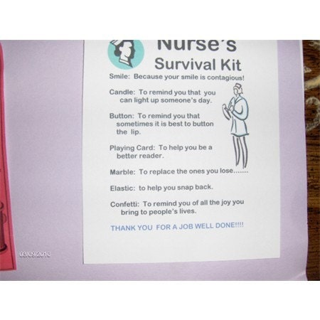 Nurses Survival Kit