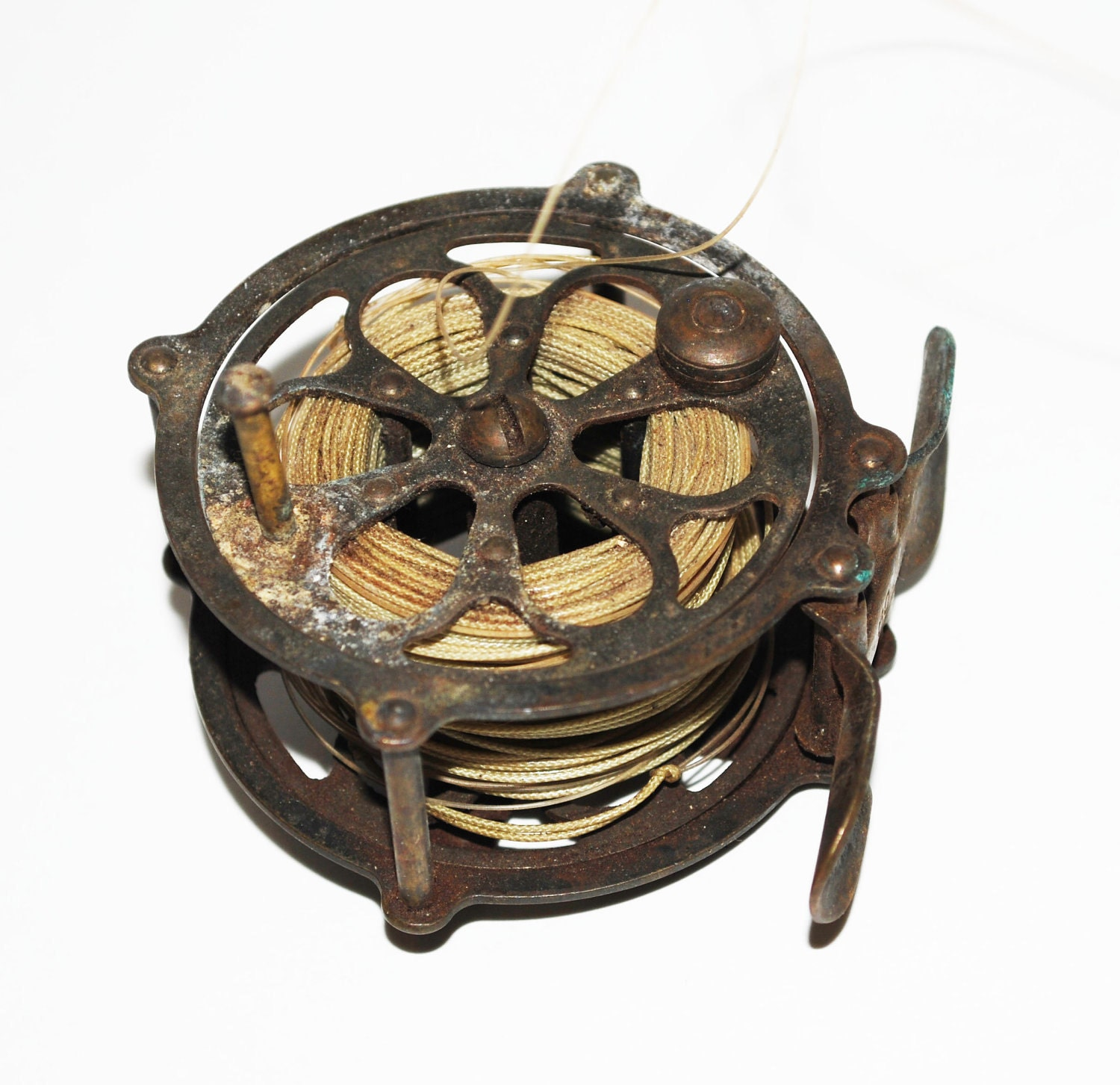 Antique fly fishing reels related keywords antique fly for Antique fishing reels