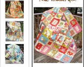 Funky Windows Quilt Pattern cjw-003 Fat Quarter Quilt
