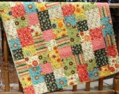 Frolic Patchwork Baby Quilt