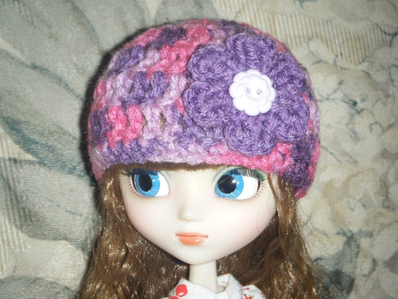 pay it forward PIF basic flower hat for pullip SUGAR PLUM