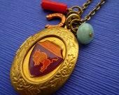 Taurus Locket Necklace (SALE)