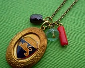 Leo Locket Necklace (SALE)