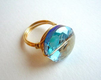 Crystal Bauble Ring