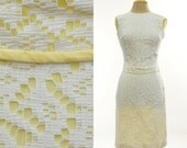 Sunny vintage 50's Lace Suit with Sleeveless Top & Wiggle Skirt
