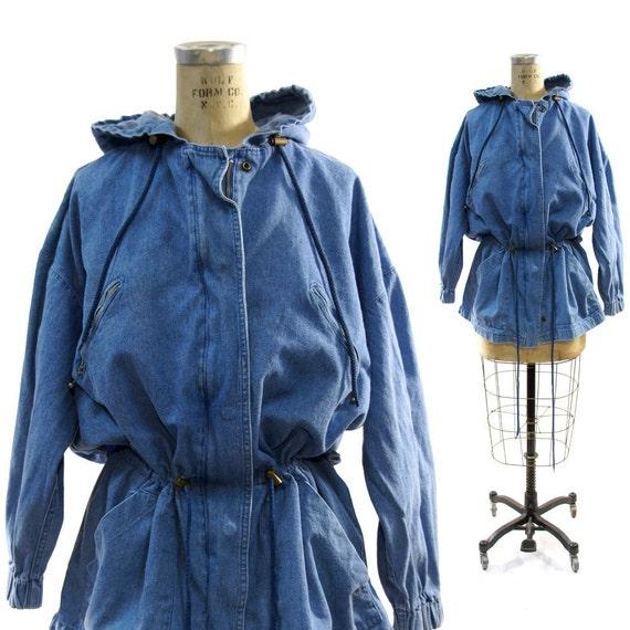 90's Avant Garde Denim Field Jacket