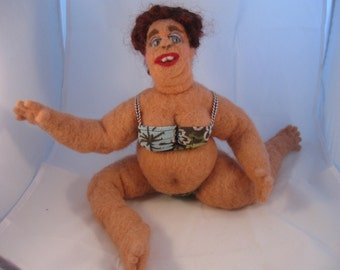 Phyllis a BBW OOAK needled felted beauty