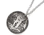 Seaside - Sterling Love Token Necklace
