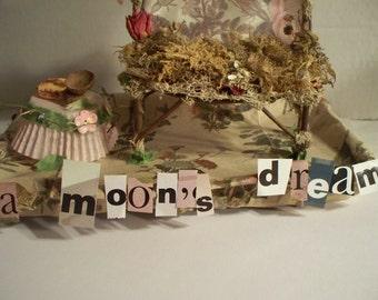 Fairy Furniture, A Moon's Dream for the Garden Princess