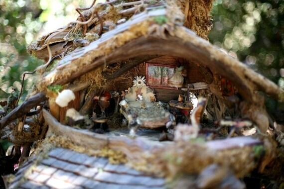 Print, The Fairy Treehouse Bedroom