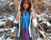 S A L E : Color Block Scarf