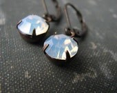 ghost . earrings . short earwires