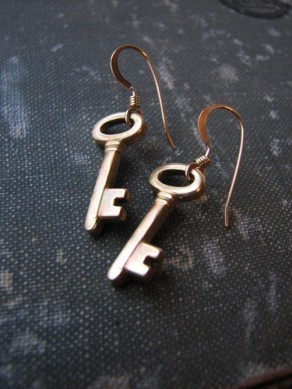 SECRECY Earrings.....short earwires.....FREE SHIPPING