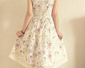 Custom Alpine Meadow Dress for Elena