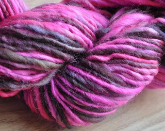 Chocolate Pop Handspun Yarn