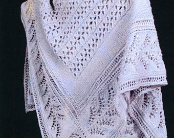 Flight of the Honey Bees Shawl Pattern - PDF File