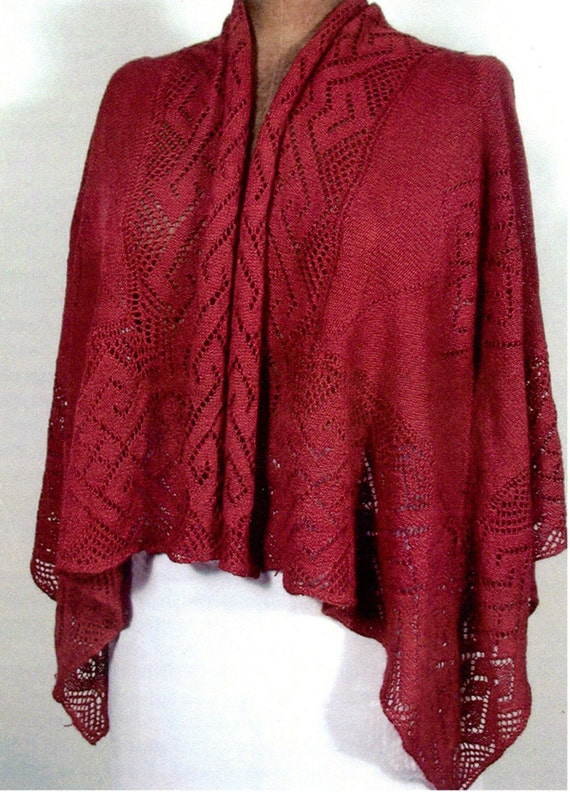 Filigree Shawl Pattern - PDF Copy