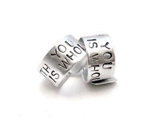 """Personalized """"Best Friends"""" Rings"""