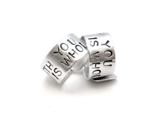 "Personalized ""Best Friends"" Rings"