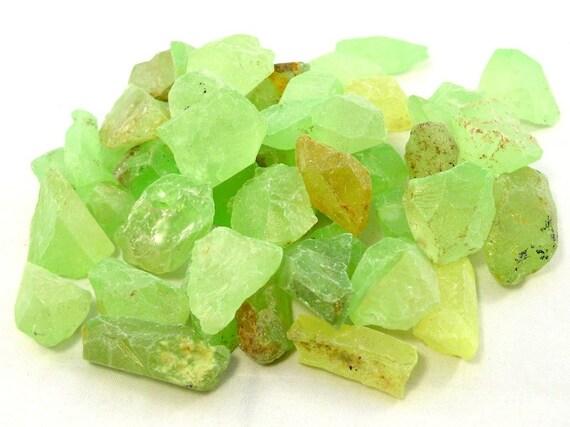 Raw Glow in the Dark Natural Quartz Crystal - NEON