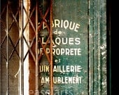 Parisian door - 8 x 10 photo