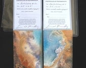Art Cards, Original Watercolors by Kennedy, Earth Colors numbers 10 and 11