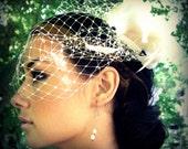Bridal Retro Silk Flower Hairclip Fascinator
