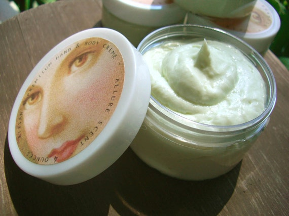 Green Tea Body Lotion Creme 4 ounces - intensive moisturizer for all types of skin