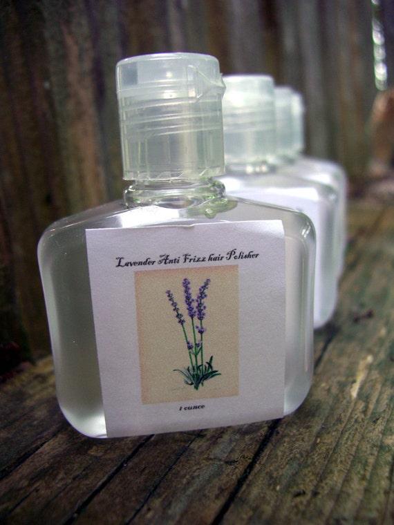 Anti Frizz hair Polisher and Shiner Serum - 1 OZ - lavender