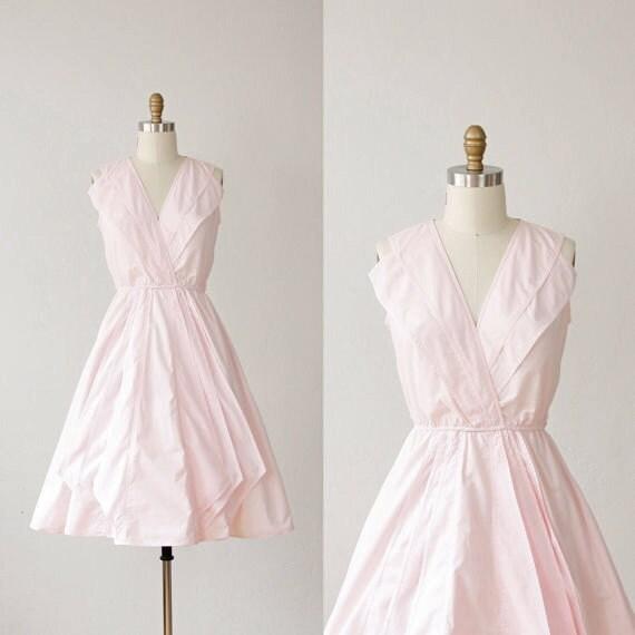 Light Pink Layered Full Skirt Dress