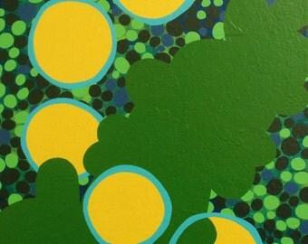 Bulwark -- 12 x 12 inch Acrylic Painting