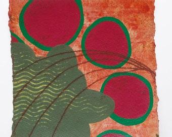 Rotation -- 6x6 inch Acrylic Painting