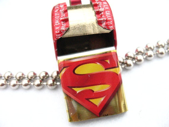 Toy whistle Superman and Coca-Cola
